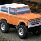 Classic Ford Bronco Paper Model
