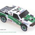 Custom Promo model: LoanMart Race Truck
