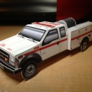 Custom Promo model: National Park Service Fire Engine
