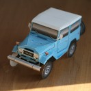 Paper FJ40 Land Cruiser paper model kit