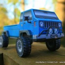 iJeep Mighty FC Concept Truck paper model