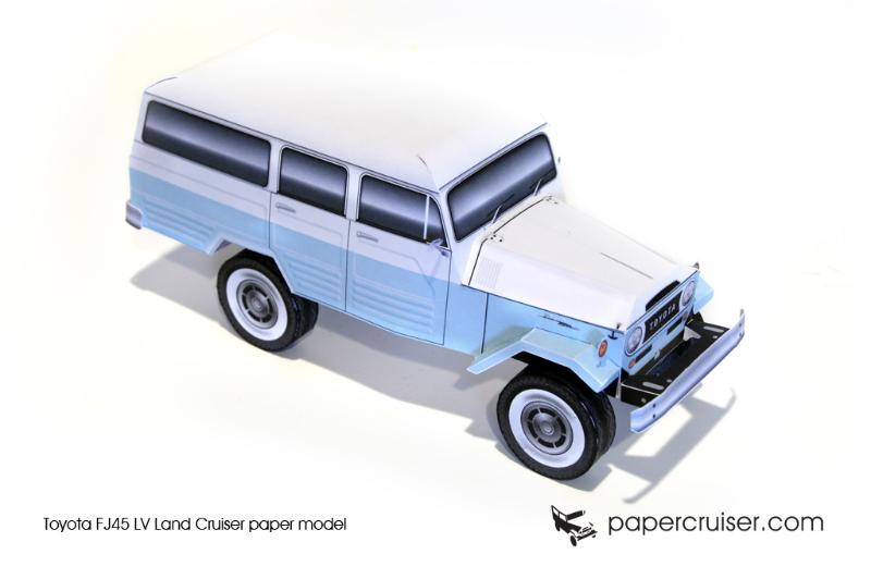 Toyota FJ45 LV Wagon « Papercruiser com