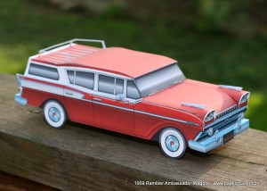 3D Wheels for the Free Rambler Station Wagon model