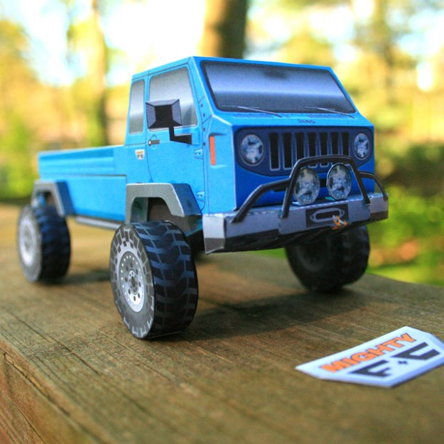 Jeep Mighty FC paper model released