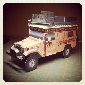 LandCruising Troopy - prototype