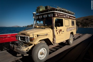 The Troopy in Bolivia