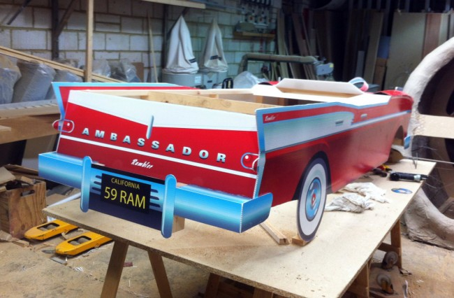 2.5 meter Rambler ambassador station wagon model