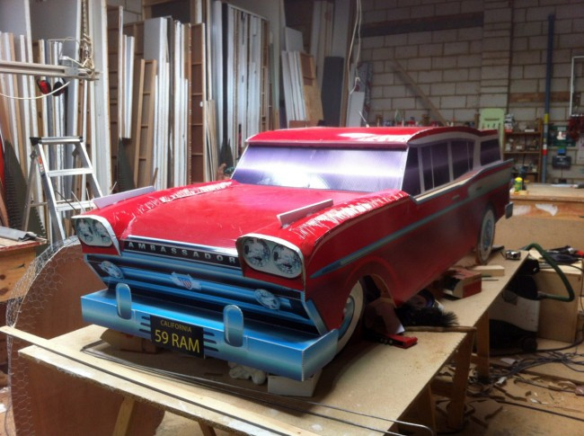 2.5 meter Rambler ambassador station wagon model