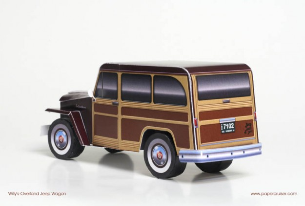Willy's Overland Jeep Woody