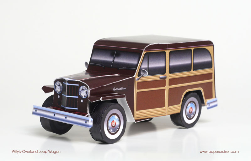 New Willy's Jeep Wagon variant: The Woody « Papercruiser.com