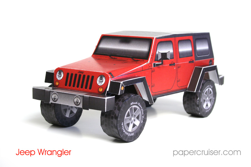 Jeep Wrangler JK 4-Door Wagon