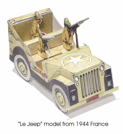 LE Jeep, 1944 French model