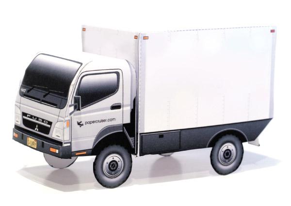 Mitsubishi Fuso paper model