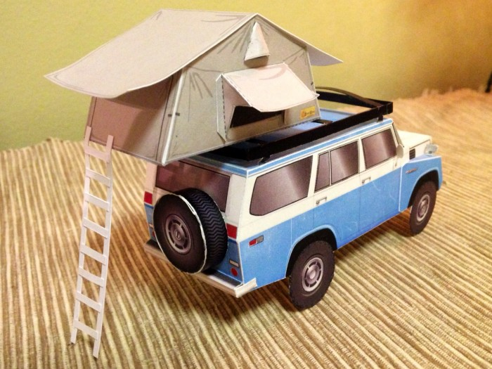 EZ-Awn rooftop expedition tent