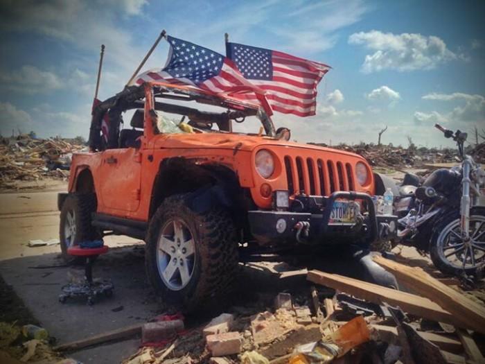 Stomper, Tornado Survivor