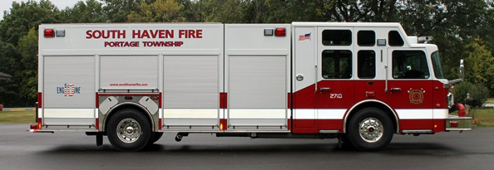 South Haven Spartan Fire Engine