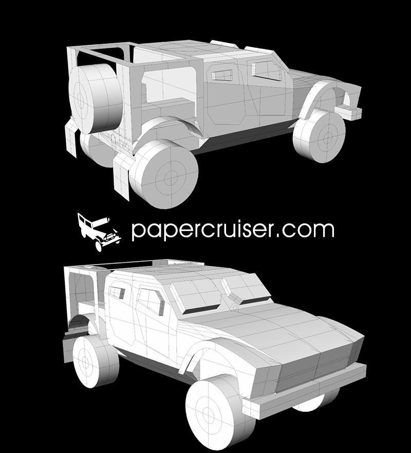 Oshkosh M-ATV 3D Render