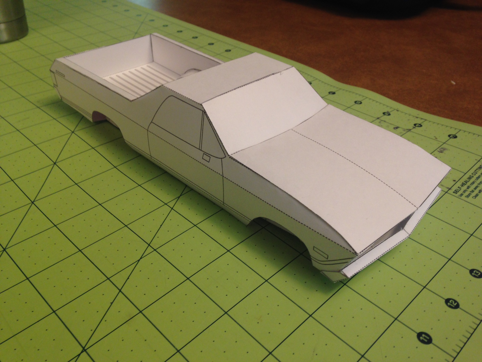 Cheap Car Lots >> Creating the El Camino paper model, start to finish « Papercruiser.com