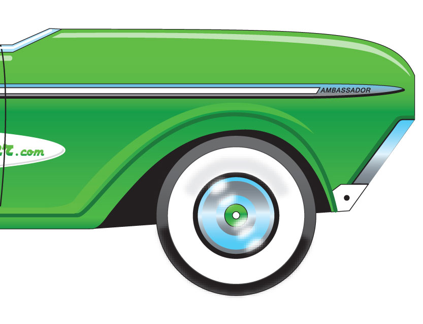Rambler Ambassador Station Wagon (GREEN)