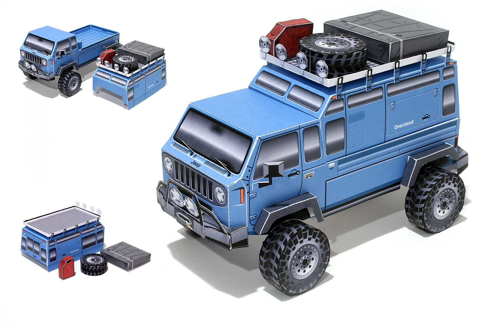 Jeep Mighty Fc Expedition Kit Concept Truck