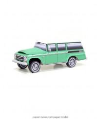 Travelall paper model