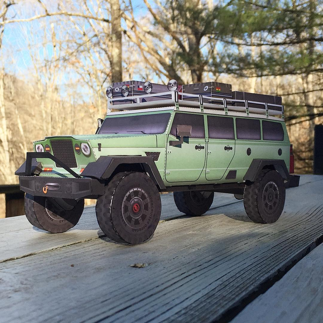 Jeep Crew Chief 715 Concept Expedition Wagon ...
