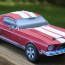 68 GT500 Mustang for auto parts company