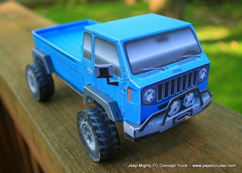 jeep mighty fc concept truck papercruisercom