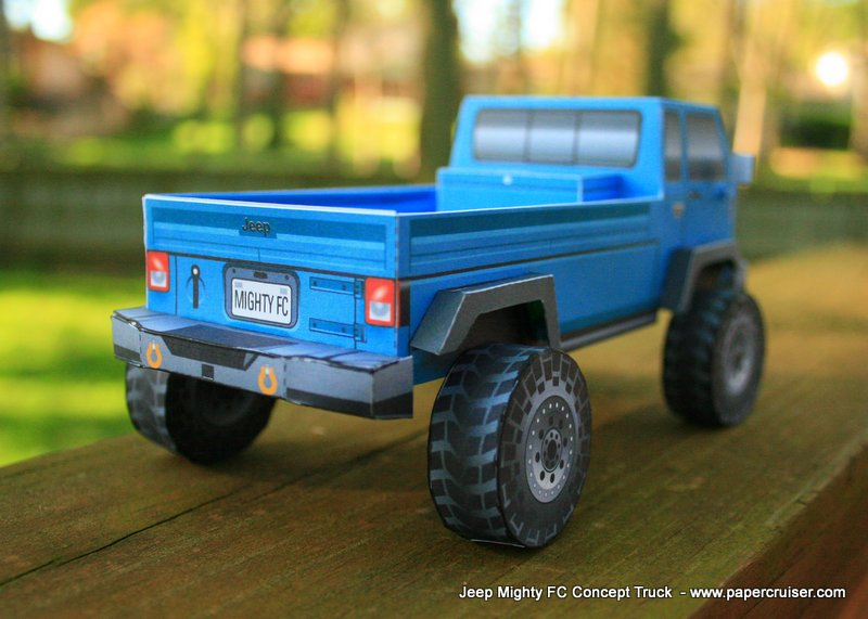 Jeep Mighty FC Concept Truck « Papercruiser.com