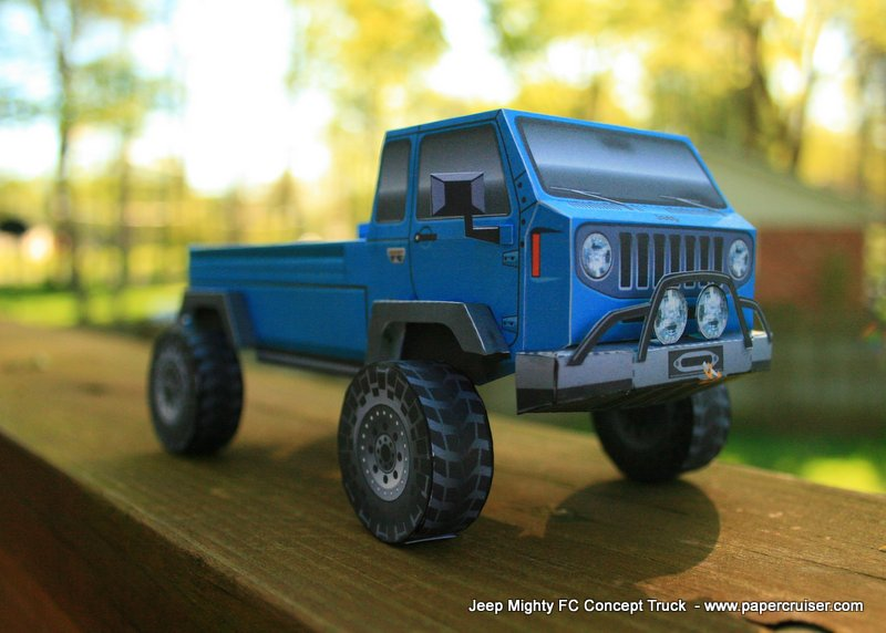 The Jeep Mighty FC Model « Papercruiser.com
