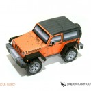 Jeep Wrangler (JK) Rubicon Paper Model
