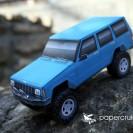 Jeep XJ Cherokee paper model
